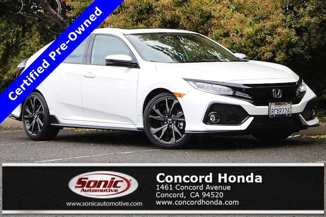 Certified 2018 Honda Civic Sport Touring Hatchback in Concord, CA