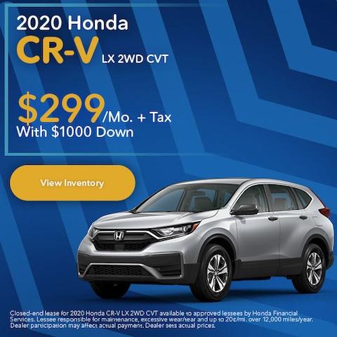 2020 Honda CR-V LX 2WD CVT