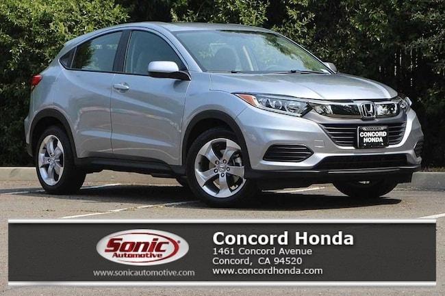 New 2019 Honda HR-V LX 2WD SUV in Concord, CA