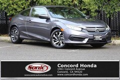 Certified 2018 Honda Civic LX-P Coupe in Concord, CA
