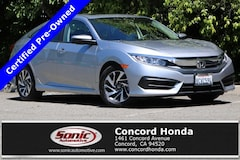Certified 2018 Honda Civic EX Sedan in Concord, CA