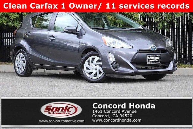 Used 2015 Toyota Prius c One Hatchback in Concord, CA