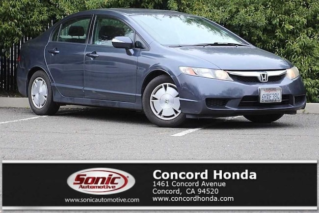 Used 2009 Honda Civic Hybrid Base Sedan in Concord, CA
