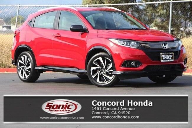 New 2019 Honda HR-V Sport 2WD SUV in Concord, CA
