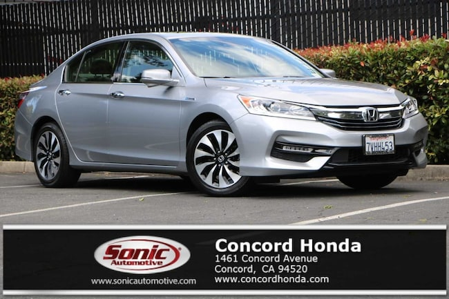 Used 2017 Honda Accord Hybrid EX-L Sedan in the Bay Area