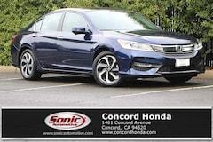 Used 2017 Honda Accord EX-L V6 Sedan in Concord, CA