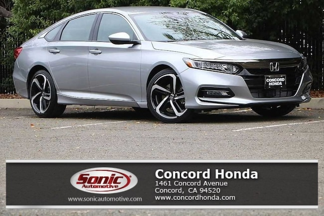 New 2019 Honda Accord Sport Sedan in Concord, CA