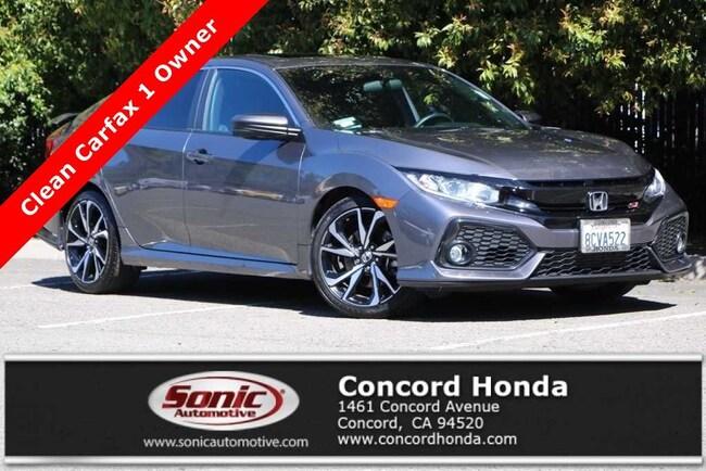 Used 2018 Honda Civic Si Sedan in Concord, CA