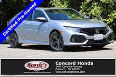 Certified 2018 Honda Civic EX Hatchback in Concord, CA