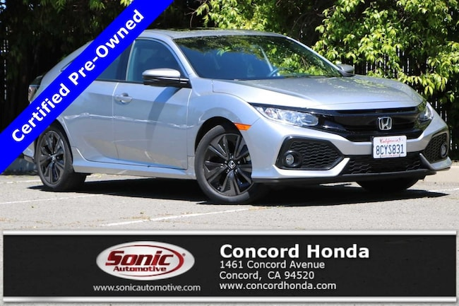 Used 2018 Honda Civic EX Hatchback in the Bay Area