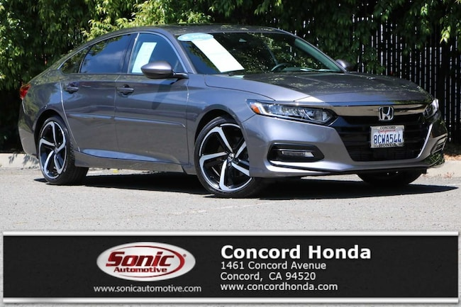Used 2018 Honda Accord Sport 2.0T Sedan in the Bay Area