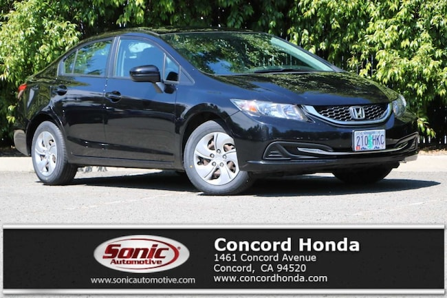 Used 2015 Honda Civic LX Sedan in Concord, CA