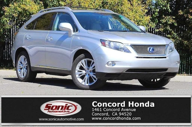 Used 2010 LEXUS RX 450h Base SUV in Concord, CA