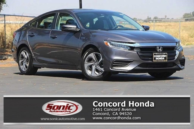 New 2019 Honda Insight EX Sedan in Concord, CA