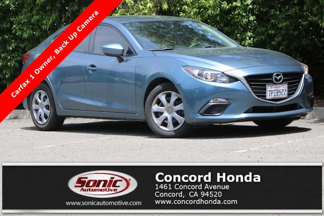 Used 2016 Mazda Mazda3 i Sport Sedan in Concord, CA