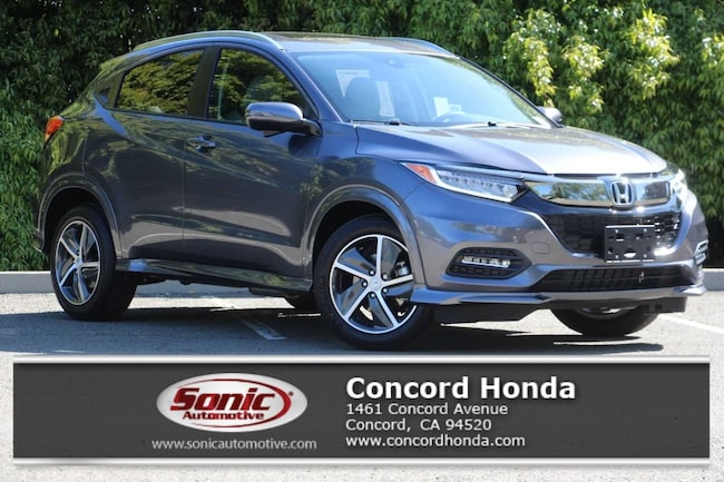 New 2019 Honda HR-V Touring AWD SUV in Concord, CA