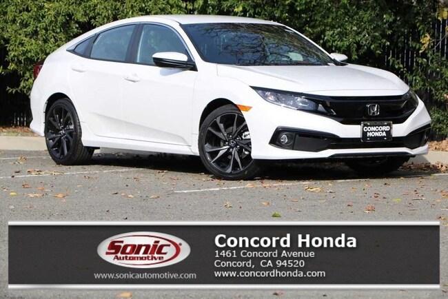 New 2019 Honda Civic Sport Sedan in Concord, CA