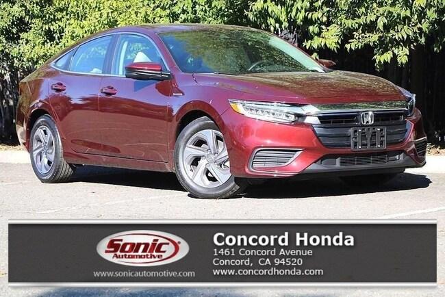 New 2019 Honda Insight EX Sedan in Concord, CA