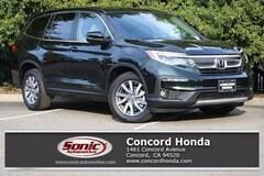 New 2019 Honda Pilot EX-L w/Navi & RES FWD SUV in Concord, CA