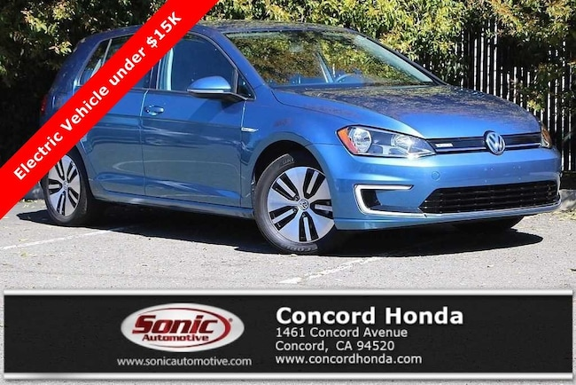 Used 2016 Volkswagen e-Golf SE Automatic Hatchback in Concord, CA