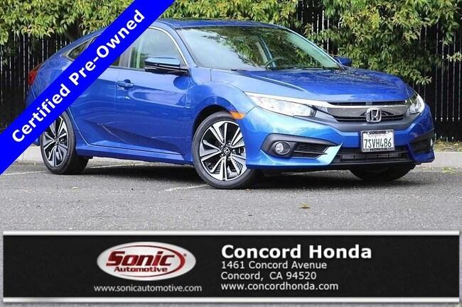 Certified 2016 Honda Civic EX-T Sedan in Concord, CA