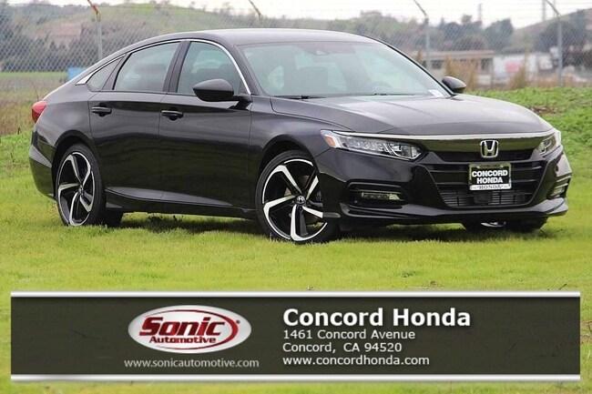 New 2019 Honda Accord Sport Sedan in Concord, CA