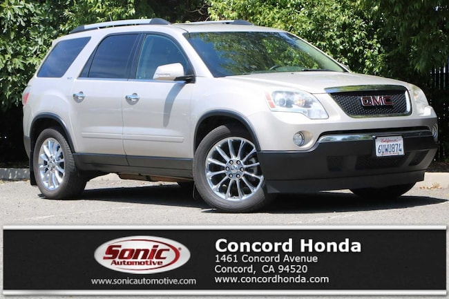 Used 2011 GMC Acadia SUV in Concord, CA