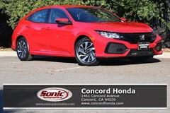 New 2019 Honda Civic LX Hatchback in Concord, CA
