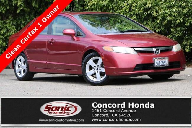 Used 2007 Honda Civic EX Sedan in Concord, CA