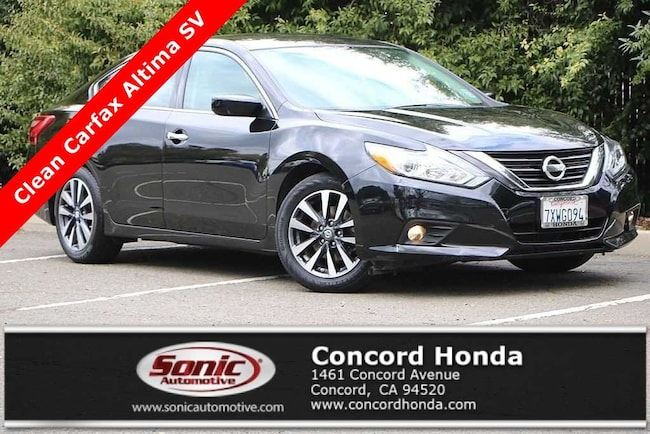 Used 2017 Nissan Altima 2.5 SV Sedan in Concord, CA