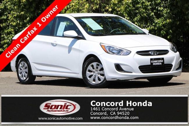 Used 2017 Hyundai Accent SE Sedan in Concord, CA