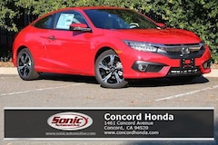 New 2018 Honda Civic Touring Coupe in Concord, CA