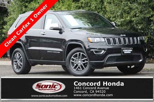 Used 2017 Jeep Grand Cherokee Limited 4x4 SUV in Concord, CA