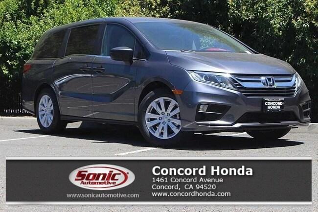 New 2019 Honda Odyssey LX Van in Concord, CA
