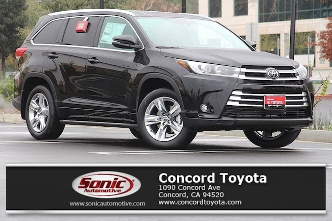 New 2019 Toyota Highlander Limited V6 SUV in Concord, CA