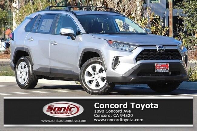 New 2019 Toyota RAV4 LE SUV in Concord, CA