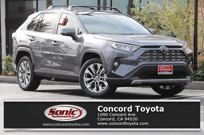 New 2019 Toyota RAV4 Limited SUV in Concord, CA