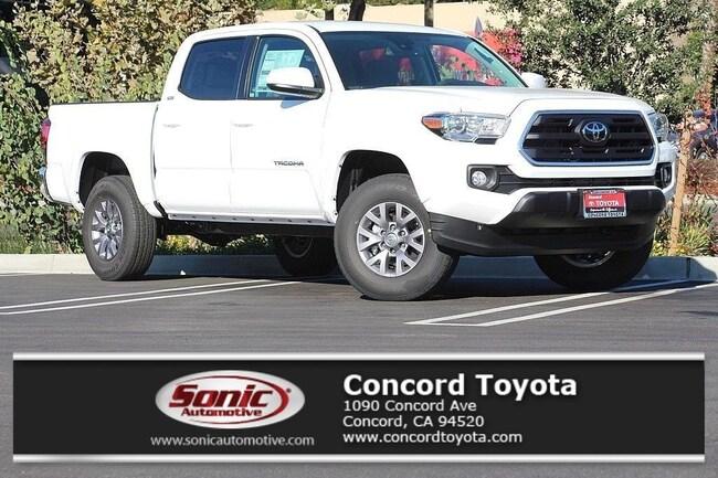 New 2019 Toyota Tacoma SR5 V6 Truck Double Cab in Concord, CA