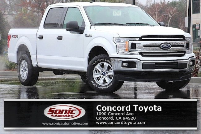 Used 2018 Ford F-150 XLT  4WD Supercrew 5.5 Box Truck SuperCrew Cab in Concord, CA