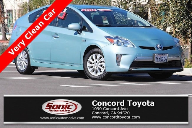 Certified 2015 Toyota Prius Plug-in 5dr HB Natl Hatchback in Concord