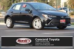 New 2019 Toyota Corolla Hatchback SE Hatchback in Concord CA