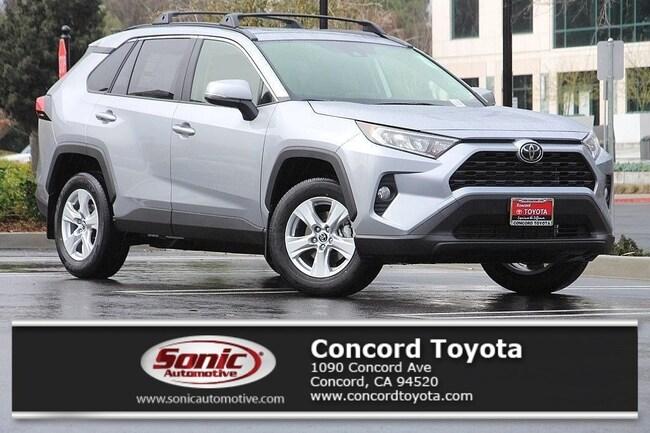 New 2019 Toyota RAV4 XLE SUV in Concord, CA
