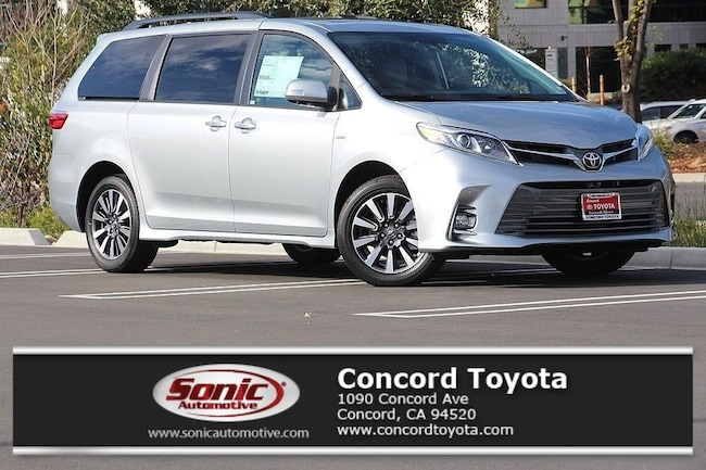New 2019 Toyota Sienna Limited Premium 7 Passenger Van in Concord, CA