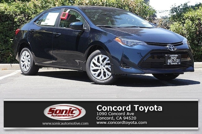 New 2019 Toyota Corolla Le For Sale In Concord Ca Stock Kp878945