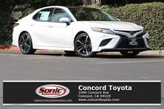 New 2018 Toyota Camry XLE V6 Sedan in Concord CA