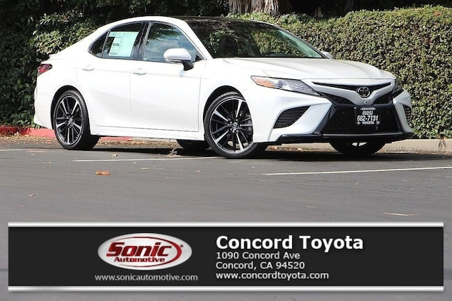 New 2018 Toyota Camry XLE V6 Sedan in Concord, CA