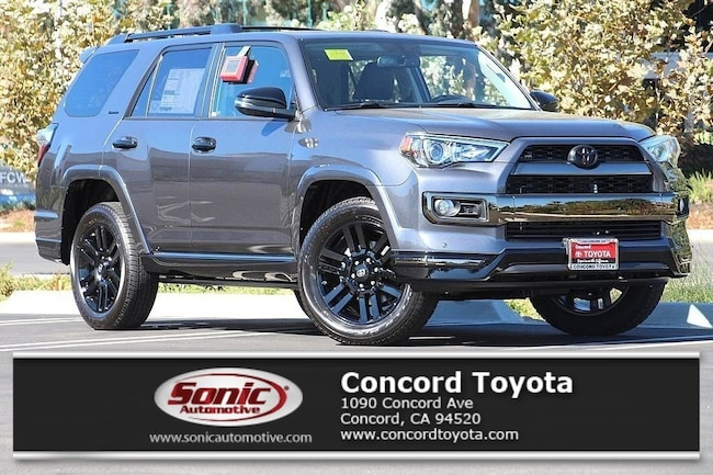 New 2019 Toyota 4Runner Limited Nightshade SUV in Concord, CA