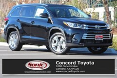 New 2019 Toyota Highlander Limited V6 SUV in Concord CA