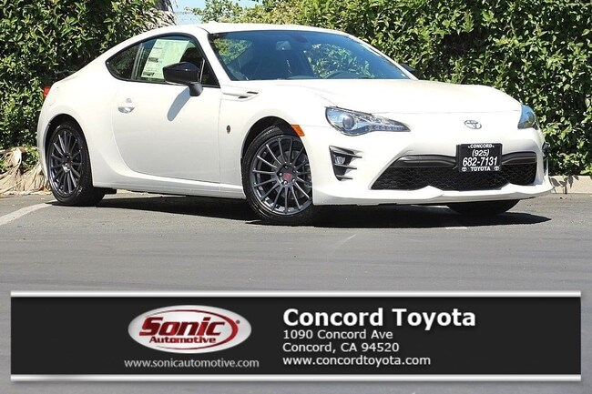 New 2018 Toyota 86 GT w/Black Accents Coupe in Concord, CA