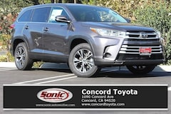 New 2019 Toyota Highlander LE V6 SUV in Concord CA